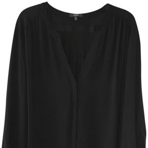 NYDJ Black V-Neck Blouse Top Size 3X
